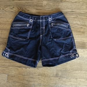 3/$25 Point Zero Black Cargo Shorts 11